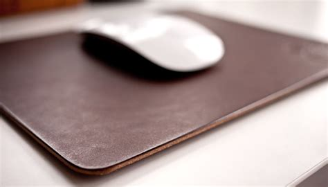full desk mouse mat premium leather mousepad gigawatt