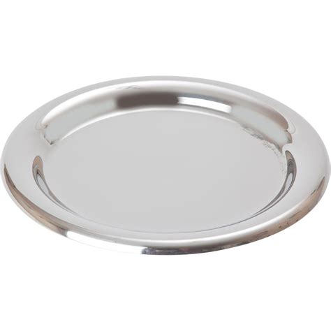 """55"""" Stainless Steel Round Tip Tray  Noble Express"""