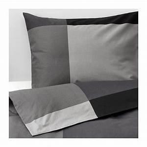 Ikea Housse De Couette : brunkrissla housse de couette et taie 150x200 50x60 cm ikea ~ Preciouscoupons.com Idées de Décoration