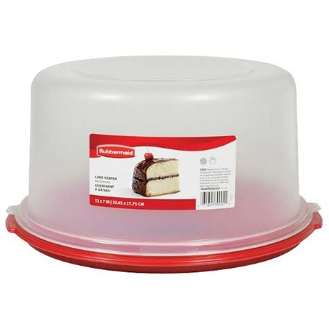 Rubbermaid 3900rd Cake Keeper Cake  Pie Storage Container