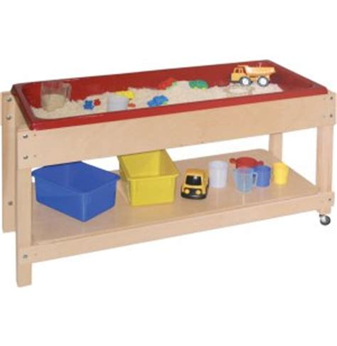 water table with lid large wooden sand and water table with lid shelf 46x17