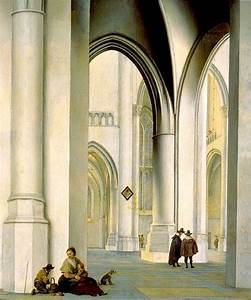 Light User Collection Interior Of The St Bavo Church Haarlem By Pieter Jansz