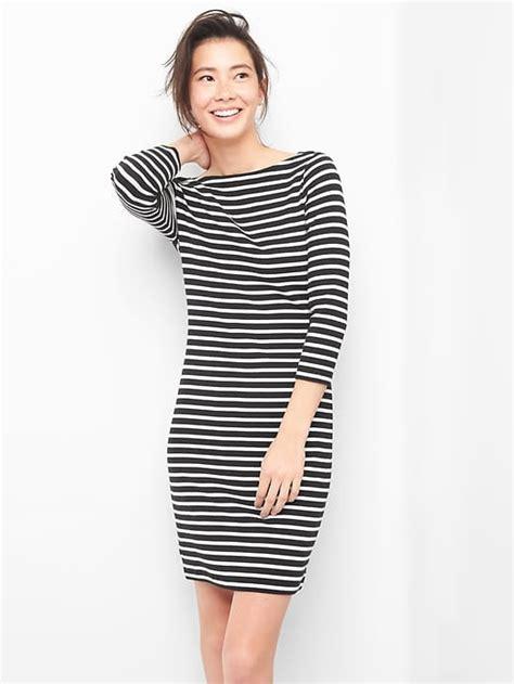 Gap Modern Boatneck Dress by Modern Stripe Boatneck T Shirt Dress Gap