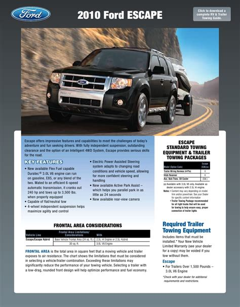 ford expedition towing capacity  modified