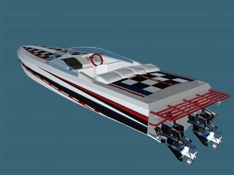 Speed Boat Model by Model Speed Boat Kits Boats And Ships Terms