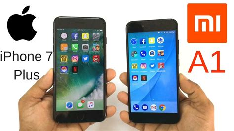 xiaomi mi a1 vs iphone 7 plus speed test which is faster