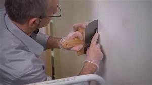 Sous Couche Toile De Verre : poser de la toile de verre sur le mur youtube ~ Premium-room.com Idées de Décoration