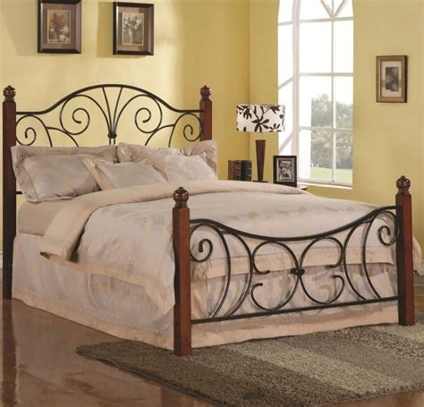 extraordinary black iron bed frames rustic metal bed
