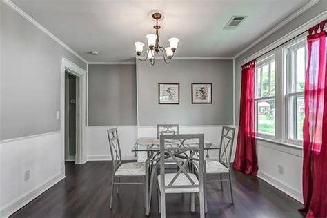 gray walls  elegant
