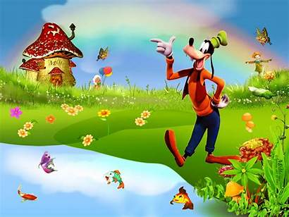 Cartoon Goofy Wallpapers Disney Background Backgrounds Desktop