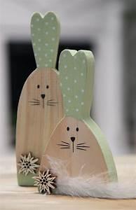 Deko Aus Holz : osterhase aus holz als paar zu ostern oder fr hlingsdeko allg u deko ~ Orissabook.com Haus und Dekorationen