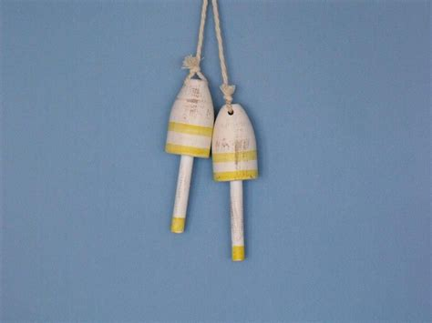 buy set of 2 wooden vintage yellow decorative maine