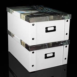 Aufbewahrungsboxen Pappe Mit Deckel : neu aufbewahrungsbox faltbar mit deckel box multibox regal schachtel regalbox ebay ~ Bigdaddyawards.com Haus und Dekorationen