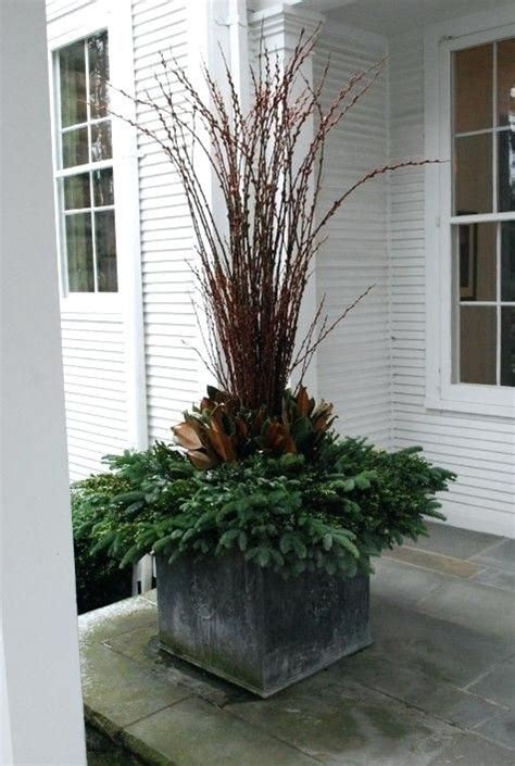 winter containers images  pinterest christmas