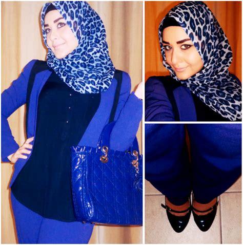How to wear hijab in an elegant style to work - HijabiWorld