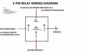 5 Pin 12v Relay Wiring