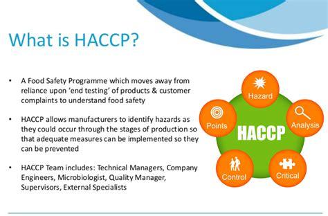 haccp cuisine exle haccp certification