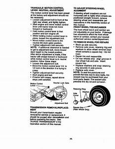 Craftsman 917270920 User Manual Tractor Manuals And Guides