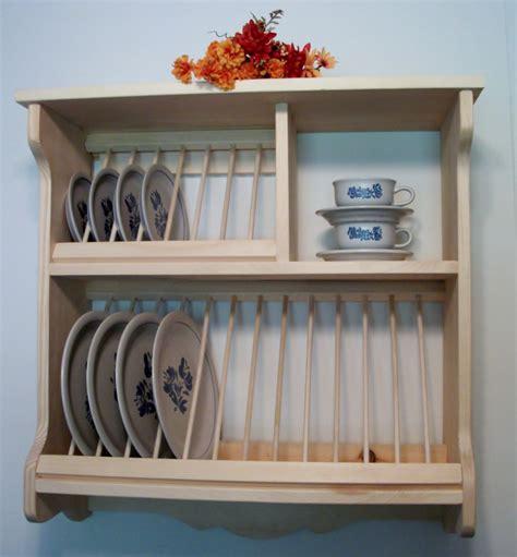 plate rack order   shipping etsy  ormanlik alan mutfak rafi ev dekoru
