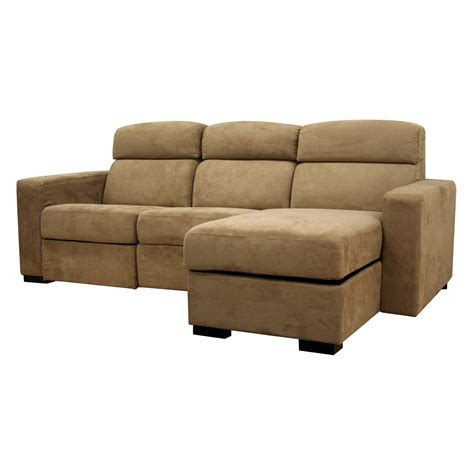 chaise a but sectional sofa with chaise recliner and sleeper