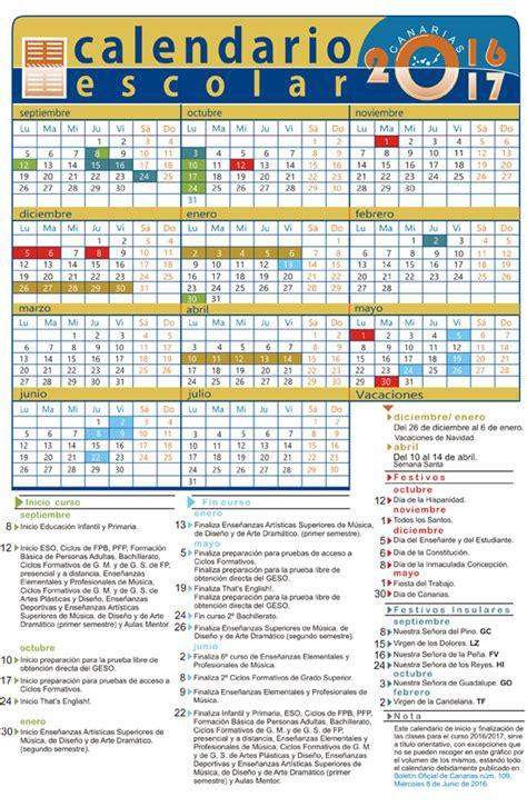 school calendar tenerife christmas easter summer holidays