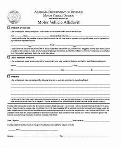Free 7  Sample Vehicle Affidavit Forms In Pdf