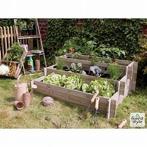 Carré Potager Gamm Vert : carr potager tages nikole 114 x 80 x 62 cm gamm vert ~ Dailycaller-alerts.com Idées de Décoration