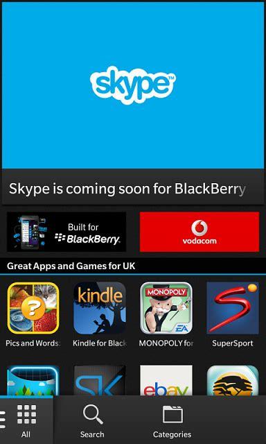 skype and instagram blackberry at crackberry