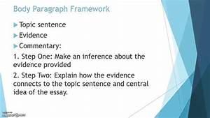 Commentary For Argumentative Essay