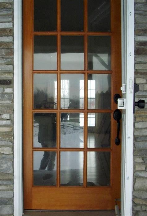 Wood Back Door With Window by Doors Paint Lowes Exterior Doors For Existing Front Door