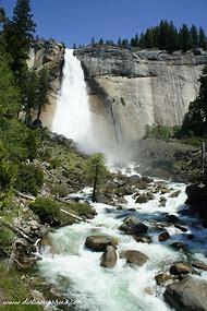 Nevada Falls Mist Trail Yosemite