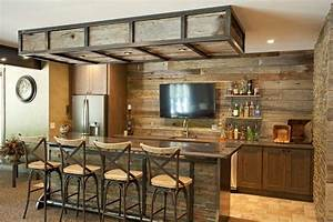Basement bar ideas rustic home bar rustic with distressed