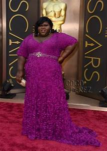 Gabourey Sidibe Masters The Red Carpet In Magenta At The ...