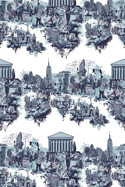timorous beasties fabric  york city toile finally