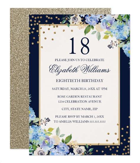 14+ 18th Birthday Invitation Designs & Templates PSD AI