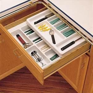 "Rev-A-Shelf Cutlery Tray 18"" Half Top RT18-3H"