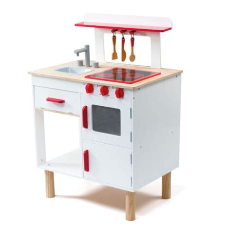 jeux de cuisine pour enfants grande cuisinière en bois oxybul pour enfant de 3 ans à 8