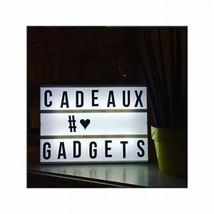 Tableau Lumineux Message : lightbox tableau lumineux messages ~ Teatrodelosmanantiales.com Idées de Décoration