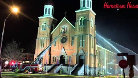 St Marys Catholic Church In Melrose Fire March 11 2016