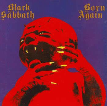 black sabbath born   dinosaur rock guitar