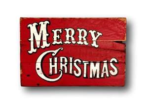 vintage merry christmas sign christmas decorations rustic