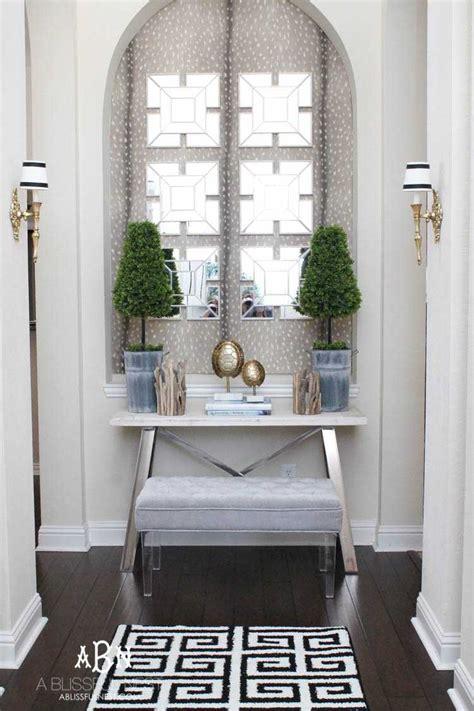 elegant entryway decor mini   blissful nest