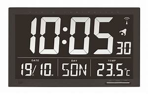 Radio Controlled Uhr Bedienungsanleitung : digitale xl funkuhr mit temperatur tfa dostmann ~ Watch28wear.com Haus und Dekorationen