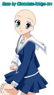Anime School Girl Base