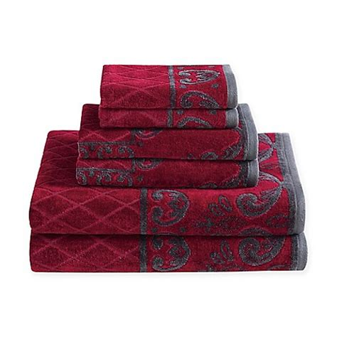 italia  piece velour bath towel set bed bath