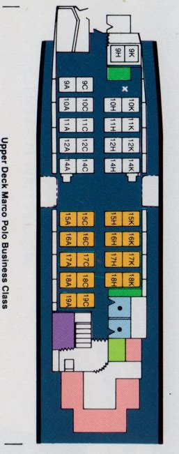vintage airline seat map cathay pacific boeing    frequently flying