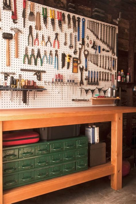 garagebest workbench organization ideas  workshop