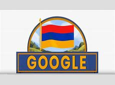 Google changes doodle to mark Armenia's 27th anniversary