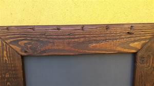 Fabriquer Un Cadre Photo : comment fabriquer un cadre en bois vieilli palettes co ~ Dailycaller-alerts.com Idées de Décoration