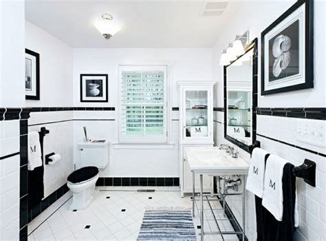 Badezimmer Ideen In Schwarzweiß  45 Inspirierende Beispiele